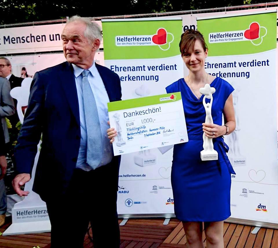 """Ausgezeichnet: NK Mitte erhält """"dm-Preis für Engagement"""""""